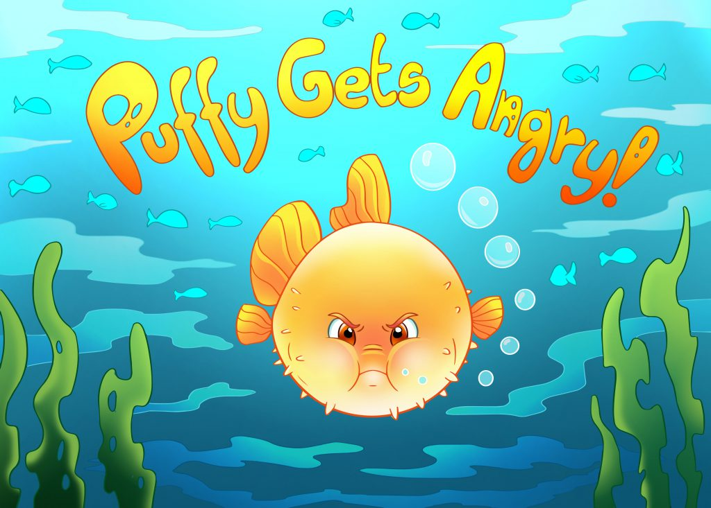 Puffy Gets Angry. Illustrated parental guide for parents of young children.